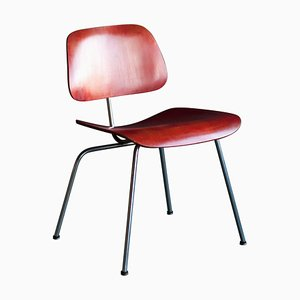 Red Aniline Side Chair by Charles Eames, 1950s