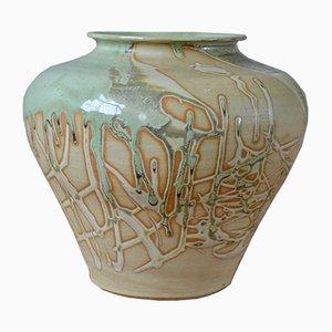 Große abstrakte Vase, 1980er