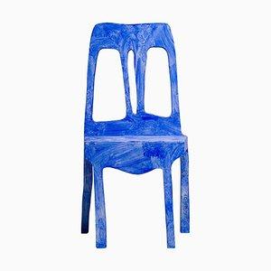 Skulpturaler Beistellstuhl von Klaas Gubbels, 2000er