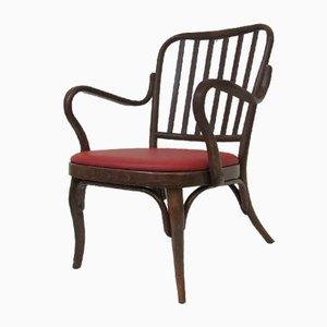Vintage A 752 Armlehnstuhl von Josef Frank für Thonet