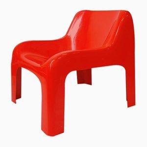 Fauteuil Rouge, années 70