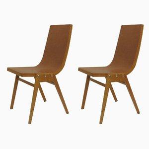 Chaises d'Appoint par Roland Rainer, années 50, Set de 2
