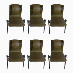 Model S22 Dining Chairs from Galvanitas, 1970s, Set of 6
