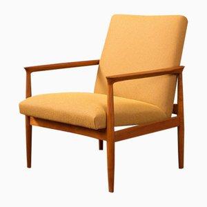 Sessel mit Gestell aus Teak, 1950er