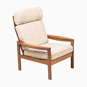 Mid-Century Sessel mit Gestell aus Teak von Arne Wahl Iversen für Komfort
