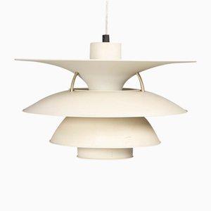 Lámpara colgante modelo PH 5-4 vintage de Poul Henningsen para Louis Poulsen