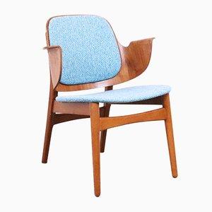 Danish Model 107 Lounge Chair by Hans Olsen, 1960s