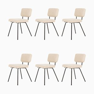Dining Chairs by André Simard for Airborne, 1960s, Set of 6