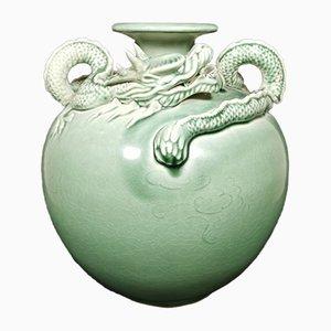 Chinesische Mid-Century Keramikvase