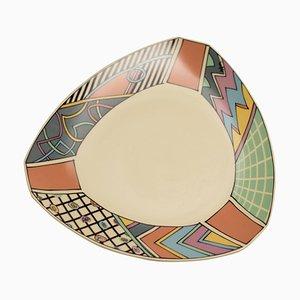 Flash Plate by Dorothy Hafner for Rosenthal, 1980s