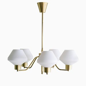 Scandinavian Chandelier from Asea, 1950s