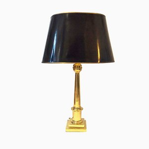 Hollywood Regency Brass Table Lamp, 1970s