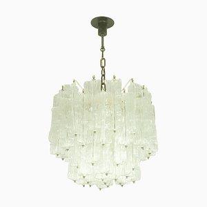 Murano Glass Chandelier by Toni Zuccheri for Venini, 1960s
