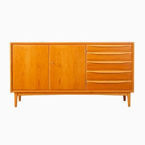 Cherry Veneer and Formica Sideboard, 1950s