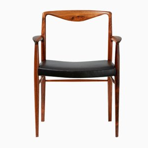 Rosewood Armchair by Kai Lyngfeldt-Larsen for Søren Wiladsen, 1960s
