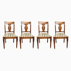 Antique Dining Chairs from Warrings, Set of 4