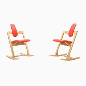 Beistellstühle von Peter Opsvik für Stokke, 2000er, 2er Set