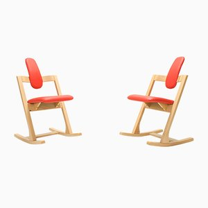 Side Chairs by Peter Opsvik for Stokke, 2000s, Set of 2