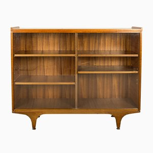 Walnut and Glass Cabinet from Meredew, 1960s