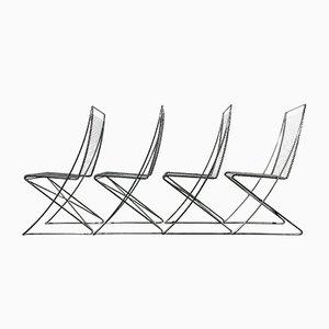 Vintage Esszimmerstühle von Till Behrens für Schlubach, 4er Set