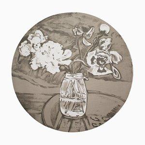 Miroir Convexe Autoportrait de Jane Freilicher, 1984