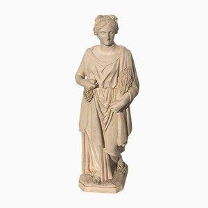 Antike Keramikskulptur von Fábrica das Devezas
