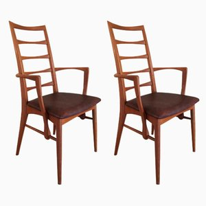 Side Chairs by Niels Koefoed for Koefoeds Hornslet, 1960s, Set of 2