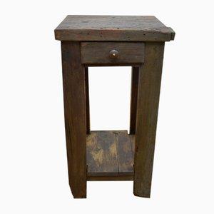 Mesa de trabajo vintage de madera, años 20