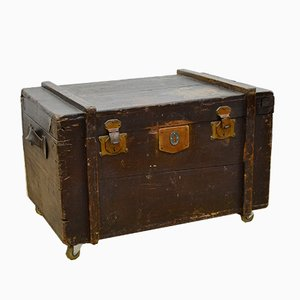 Vintage Italian Travel Trunk, 1920s