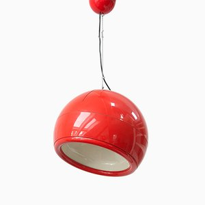 Mid-Century Italian Pallade Ceiling Lamp by Studio Tetrarch for Artemide