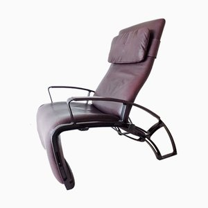 IP84S Recliner Lounge Chair by Ferdinand A. Porsche for Interprofil, 1980s
