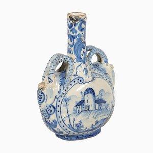 Flasque Ancienne en Céramique, Italie
