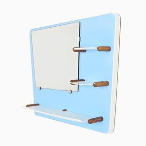 Mid-Century Mirror with Shelf, 1960s