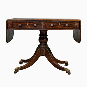 Antique Regency English Rosewood Dining Table