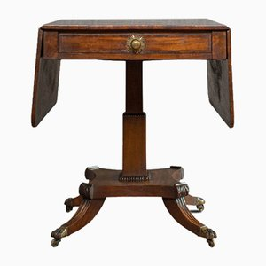 Antique Regency English Mahogany Console Table