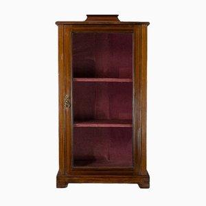 Antique English Mahogany Display Cabinet