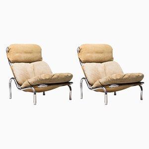 Lounge Chairs by Erik Ole Jørgensen for Georg Jørgensen & Søn, 1960s, Set of 2