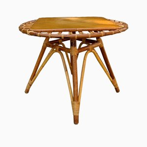 Rattan Coffee Table, 1960s