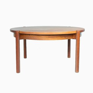 Round Mid-Century Danish Coffee Table by Hans Frydendal