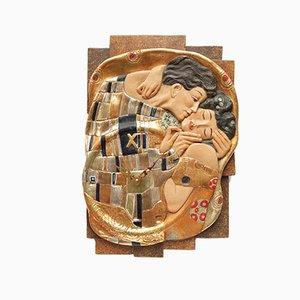 Sculptural Clock from Conrad Moroder, 1990s