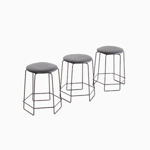 Wire Stools by Verner Panton, 1960s, Set of 3