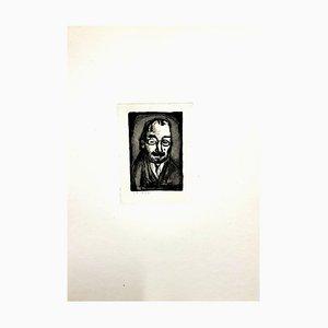 Grabado Ubu the King de Georges Rouault, 1930