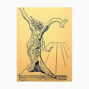 Lithographie Living Tree par Max Ernst, 1959