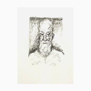 Litografía Portrait de Kees Van Dongen, 1950