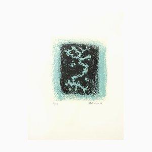 Snow Lithografie von Léon Zack, 1969