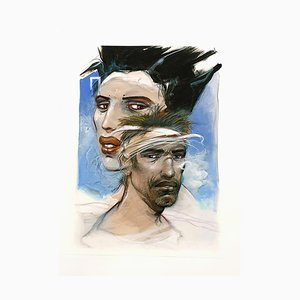 Ulysses and Penelope Lithograph by Enki Bilal, 2012