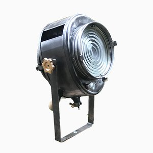 Dreibeinige Scheinwerfer Stehlampe von A.E. Cremer, 1950er