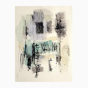 Stencil by Jean Bazaine, 1958