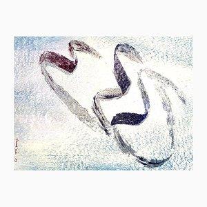 Lithographie Annabelle par Jean Fautrier, 1957