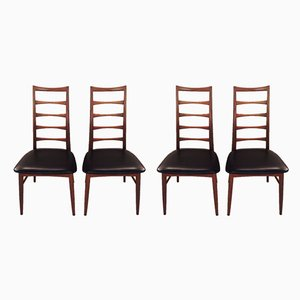 Mid-Century Dining Chairs by Niels Koefoed for Koefoeds Møbelfabrik, Set of 4